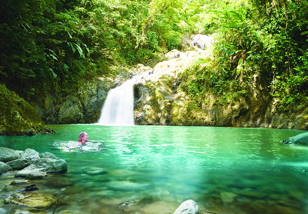 Explore the waterfalls
